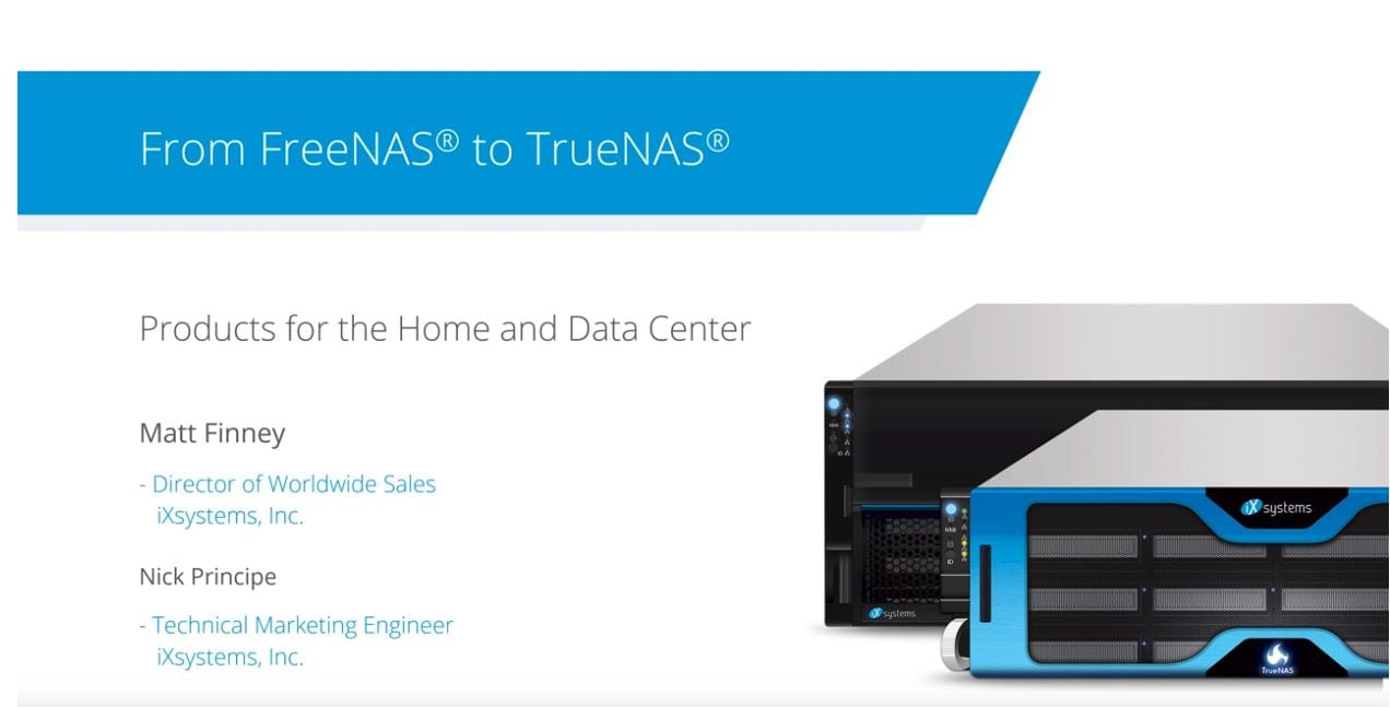 FreeNAS Upgrade | TrueNAS Reseller
