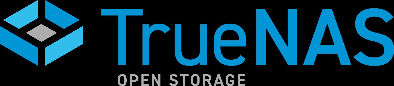 TrueNAS open storage logo
